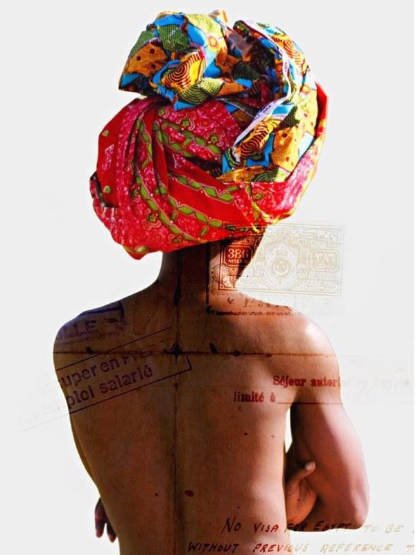 Ashola Akpo Autoportrait 2015, Tryptique